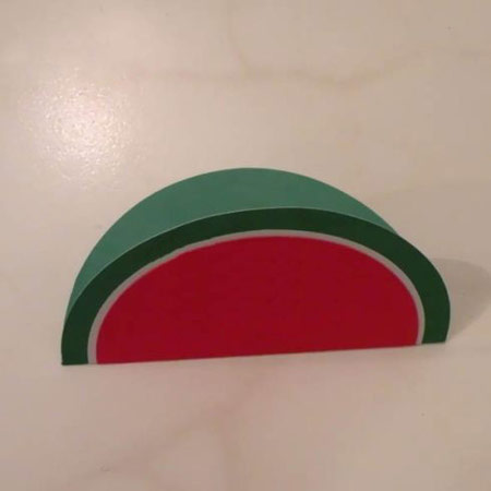 ساخت کارت تبریک هندوانه برای شب یلدا,تزیینات شب یلدا