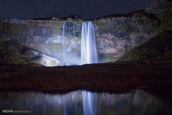 آبشار ایسلند,عکس آبشار,آبشارهای زیبا