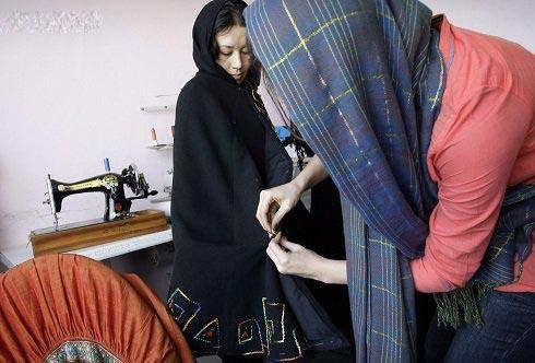 عکس دختر افغان