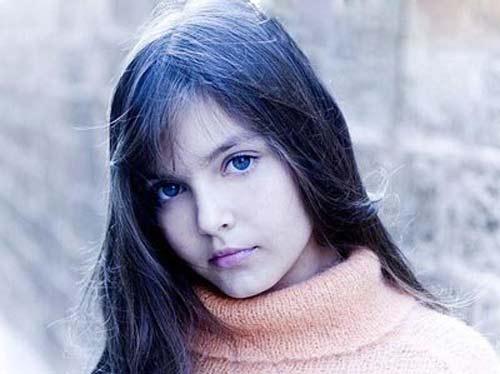 عکسی جالب از دختر خوشگل