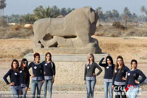 عکس های دختران شایسته عراق در سال 2015