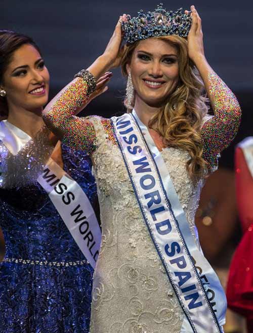 دختر زیبای اسپانیایی دختر شایسته 2015 شد