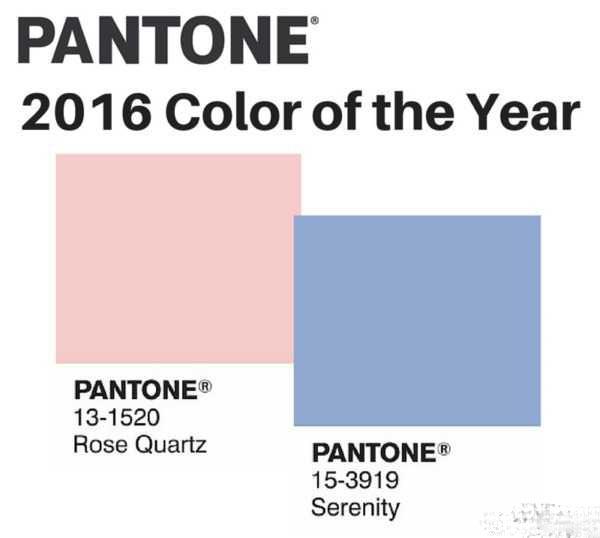 رنگ سال 2016 و 95 | رنگ ابی و صورتی رنگ سال
