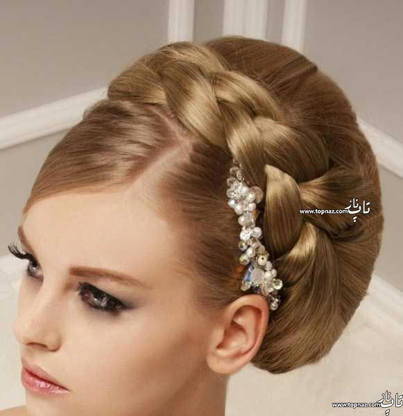 جدیدترین مدل مو و رنگ موی عروس