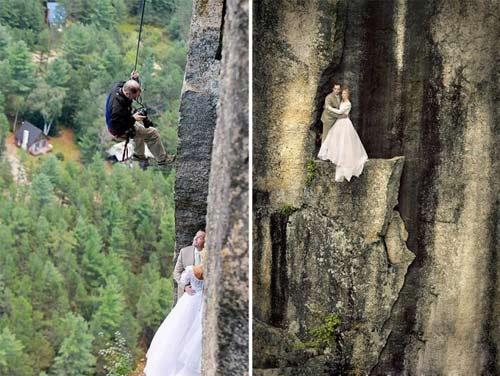 عجیب ترین و وحشتناک ترین عکس های عروس و داماد!