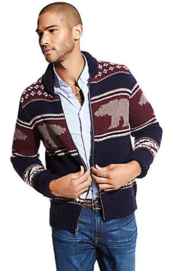 مدل بافت های زمستانی مردانه برند تامی هیلفیگر