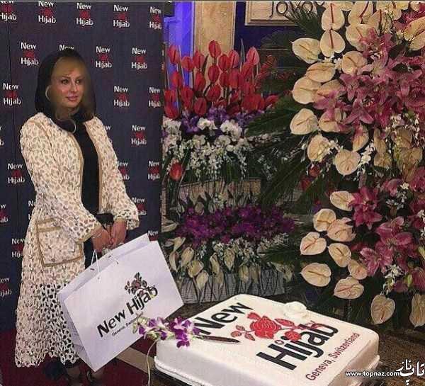 عکس نیوشا ضیغمی با مانتوی دانتل میلیونی اش