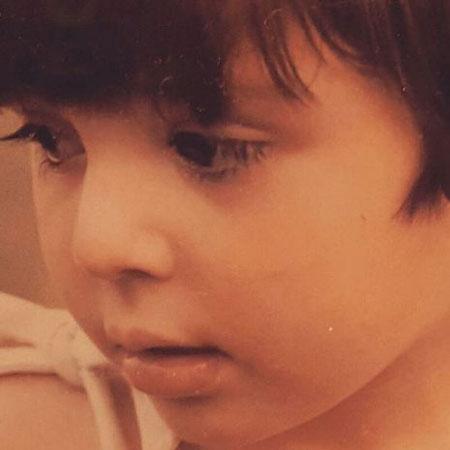 نیوشا ضیغمی در کودکی