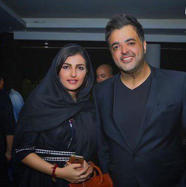 عکس سعید عرب و همسرش