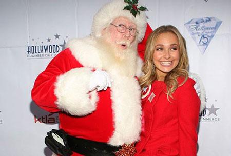 اخبار,اخبار فرهنگی,ستاره های هالیوود در کنار بابانوئل