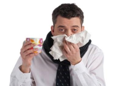 گلودرد و سرماخوردگی, خشک شدن آب بینی