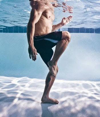 تمرینات ورزشی در آب,ورزش های آبی,آب درمانی