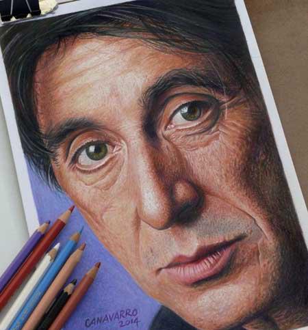 اخبار , اخبار گوناگون , نقاشی با مداد رنگی