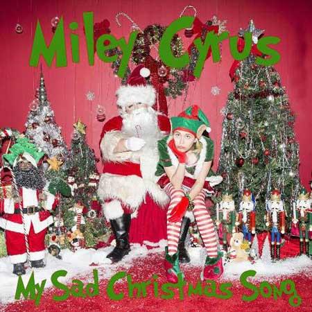 مایلی سایرس و تبریک کریسمس با یک آهنگ غمگین