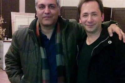 عکس مهران مدیری در کنار بابک زنجانی در سریال در حاشیه!