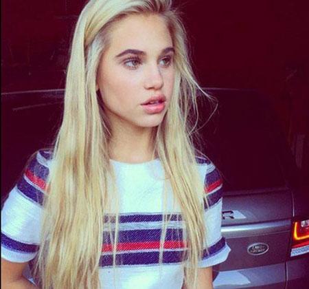 آیا کریس رونالدو عاشق این دختر زیبای 16 ساله شده!؟ +عکس