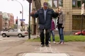 کلیپ جالب دوربین مخفی خنده دار شوخی پلیس با مردم