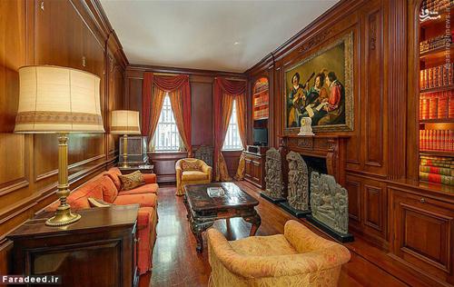 عکس های خانه گران قیمت اشرف پهلوی در آمریکا