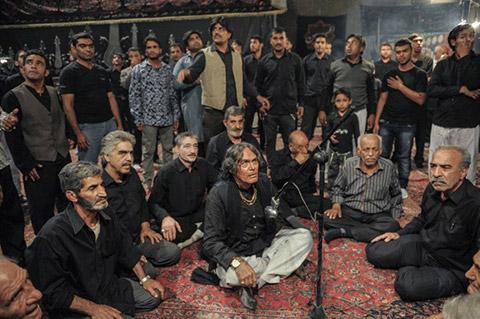 عکس از گریم متفاوت جمشید هاشم پور در فیلم نفس