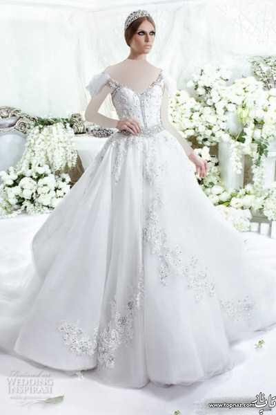 لباس عروس خارجی برند Dar Sara 2016