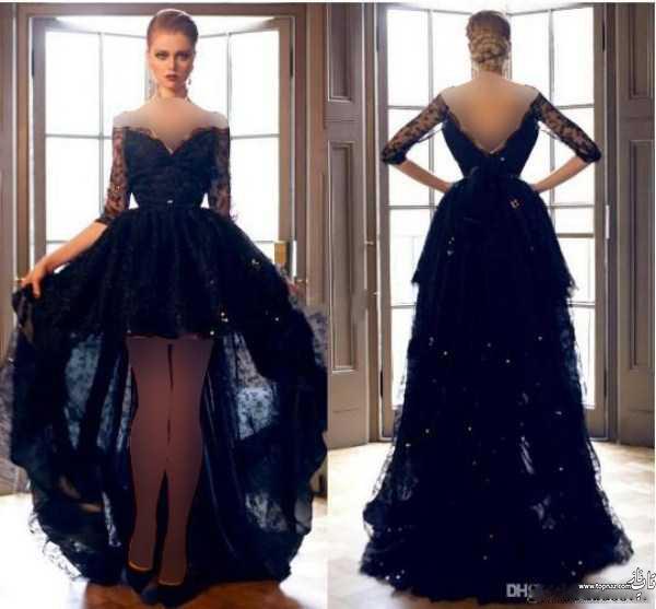 مدل لباس مجلسی دانتل 95-2016 - زیباترین لباس مجلسی دانتل و لباس نامزدی - لباس شب دانتل و پیراهن مجلسی