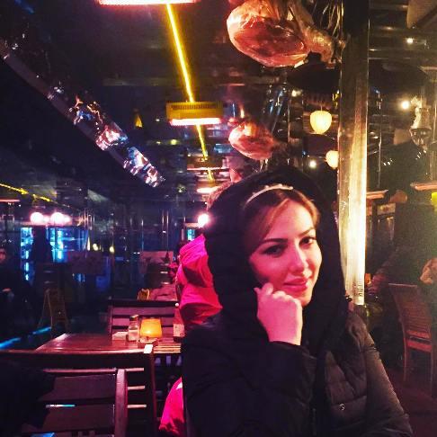 عکس جدید و دیده نشده لیلا اوتادی در ترکیه