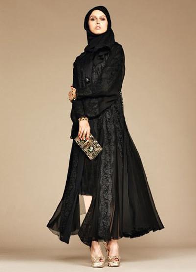 مدل مانتو عربی D&G