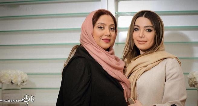 عکس بازیگران زن در سالن آرایش و زیبایی مریم سلطانی