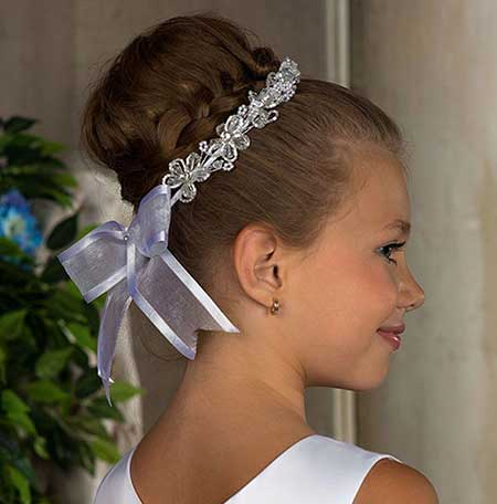 مدل موهای زیبا برای دختر بچه های کم سن و سال
