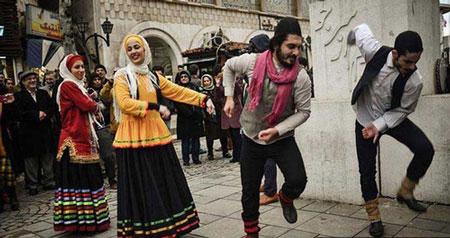 عکس های رقص زنان و مردان در رشت
