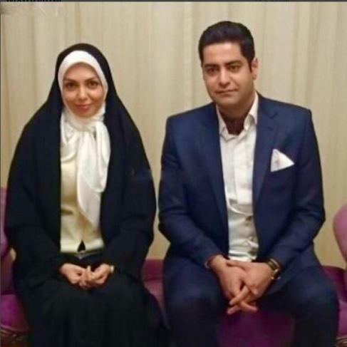 عکس از سجاد عبادی همسر دوم آزاده نامداری