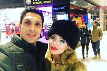 عکس دیدنی سپهر حیدری و همسرش در اسپانیا