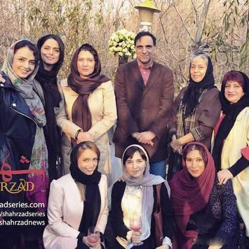 عکس بدون گریم از بازیگران زن سریال شهرزاد