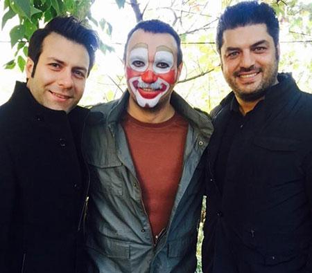 سام درخشانی در سریال پشت بام تهران