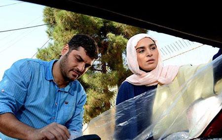 اندیشه فولادوند و سام درخشانی در سریال پشت بام تهران