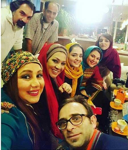 شام ایرانی بازیگران ایرانی