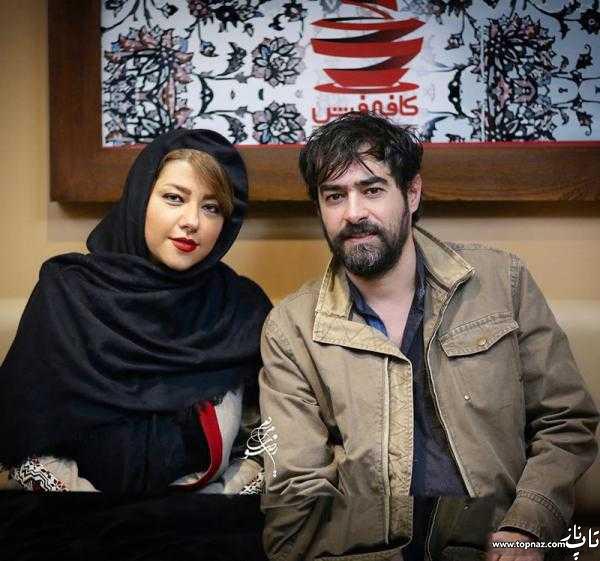 شهاب حسینی و همسرش پریچهر