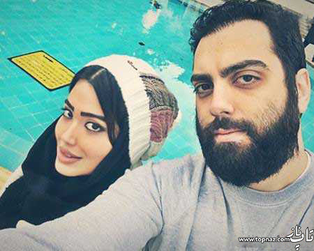 بهادر زمانی و همسرش