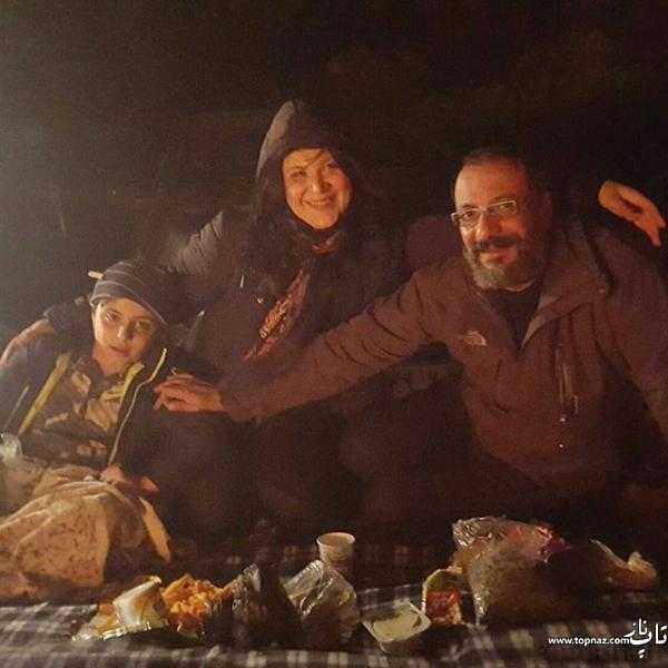 امیر جعفری و همسرش ریما رامین فر و پسرش