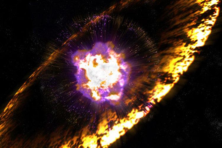 انفجار ستاره