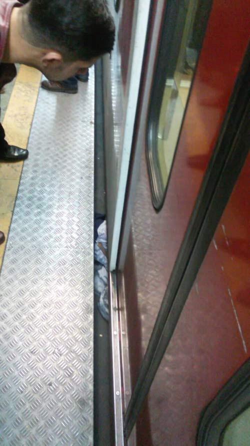جزئیاتی از مرگ یا خودکشی مردی در متروی تهرانپارس