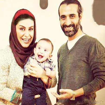 عکس از ماه چهره در روز تولدش در کنار شوهرش