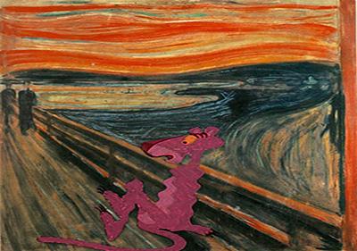 عکس های خنده درا شوخی با معروف ترین نقاشی ها