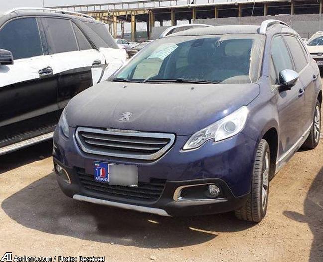 عکس پژو شاسی بلند 2008 محصول جدید ایران خودرو