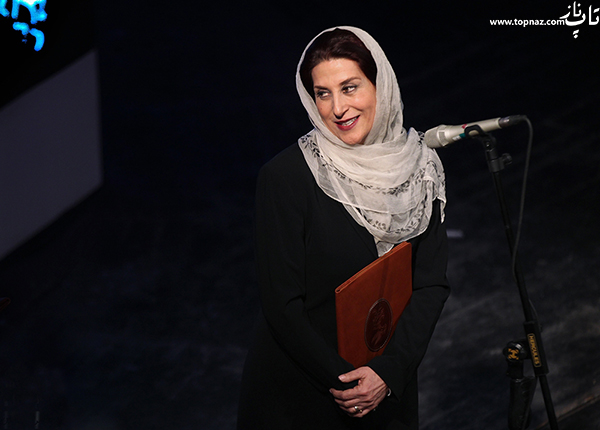 فاطمه معتمد آریا در افتتاحیه سی و چهارمین جشنواره فیلم فجر