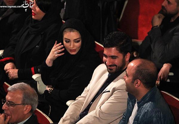 سحر قریشی در افتتاحیه سی و چهارمین جشنواره فیلم فجر