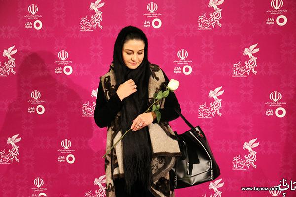 مریلا زارعی در افتتاجیه سی و چهارمین جشنواره فیلم فجر