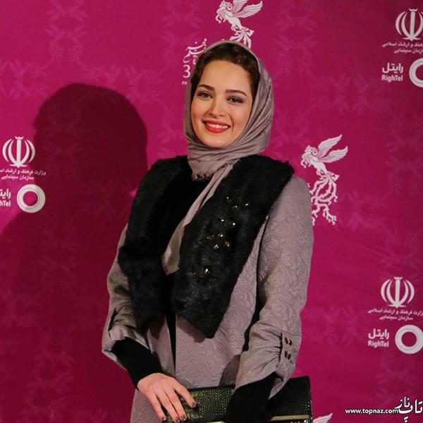 بهنوش طباطبایی در افتتاجیه سی و چهارمین جشنواره فیلم فجر