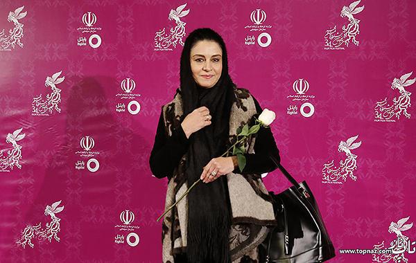 مریلا زارعی در افتتاحیه سی و چهارمین جشنواره فیلم فجر