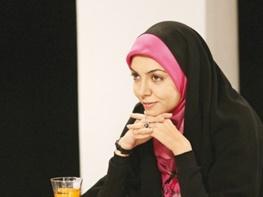 عکسی از آزاده نامداری و شوهرش بر فرش قرمز جشنواره فیلم فجر